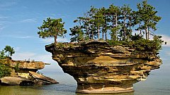 Остров Turnip Rock