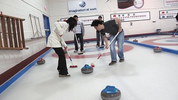 Клуб Marpole Curling в Ванкувере (фото)