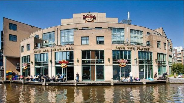 Ресторан Hard Rock Cafe в Амстердаме (фото)