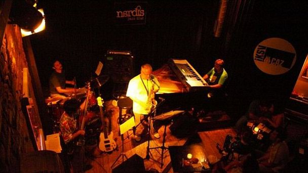 Nardis Jazz Club в Стамбуле (фото)